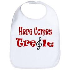 Here Comes Treble Bib