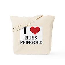 I Love Russ Feingold Tote Bag