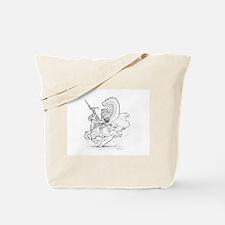 Ink Winged Hussar Tote Bag