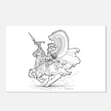 Ink Winged Hussar Postcards (Package of 8)