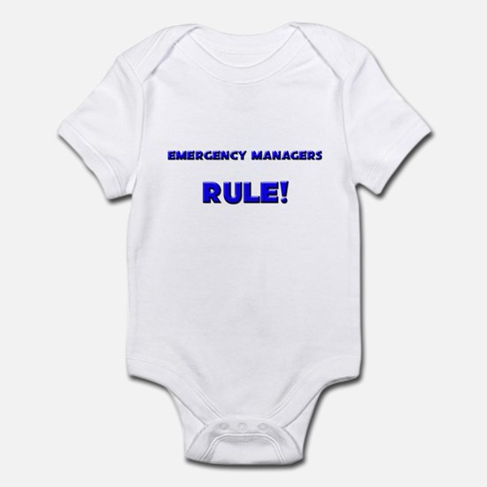 Emergency Managers Rule! Infant Bodysuit