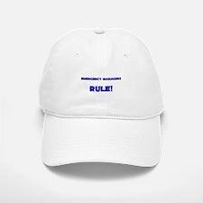 Emergency Managers Rule! Baseball Baseball Cap