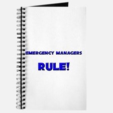Emergency Managers Rule! Journal