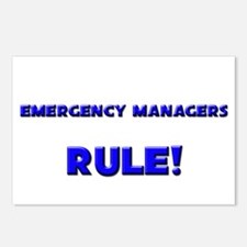 Emergency Managers Rule! Postcards (Package of 8)
