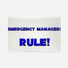 Emergency Managers Rule! Rectangle Magnet