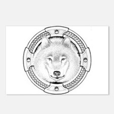 Ink Wolf Totem Postcards (Package of 8)