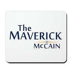 The Maverick - John McCain Mousepad