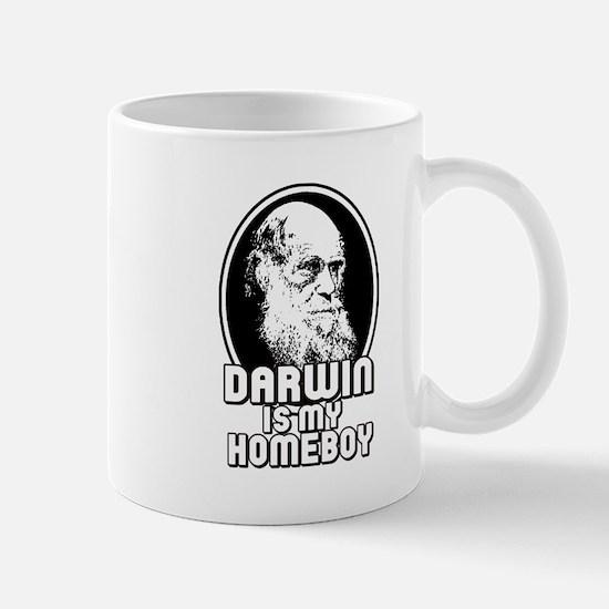 Darwin is my Homeboy Mug