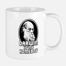 Darwin is my Homeboy Small Small Mug