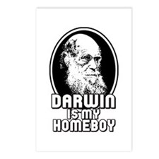 Darwin is my Homeboy Postcards (Package of 8)