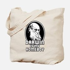 Darwin is my Homeboy Tote Bag