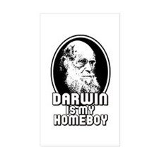 Darwin is my Homeboy Decal