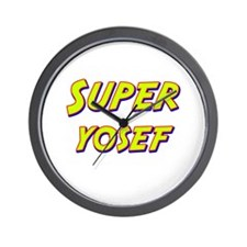 Super yosef Wall Clock