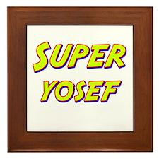 Super yosef Framed Tile