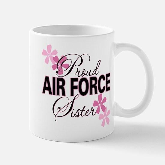 Proud Air Force Sister Mug