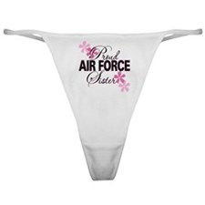 Proud Air Force Sister Classic Thong