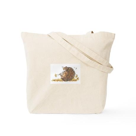 The Tumbling Hedgehog Tote Bag