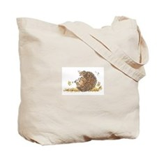 The Tumbling Hedgehog Tote Bag