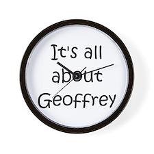 Cute Geoffrey Wall Clock