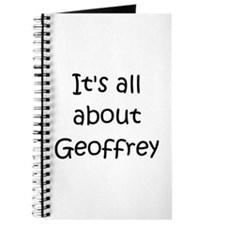Cute Geoffrey Journal
