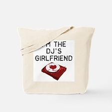 DJ's Girlfriend Tote Bag
