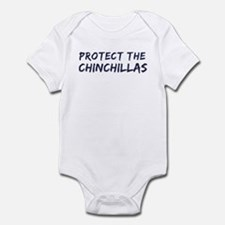 Protect the Chinchillas Infant Bodysuit