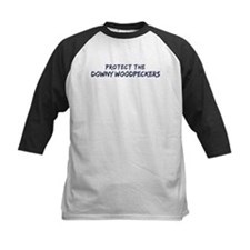 Protect the Downy Woodpeckers Tee