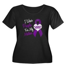 I Wear Purple For My Mother 18 (AD) T