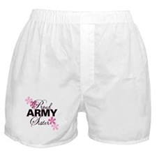 Proud Army Sister Boxer Shorts