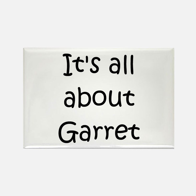 Cute Garret Rectangle Magnet