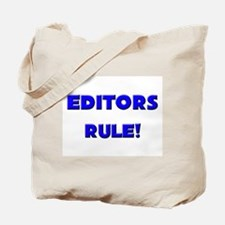 Editors Rule! Tote Bag