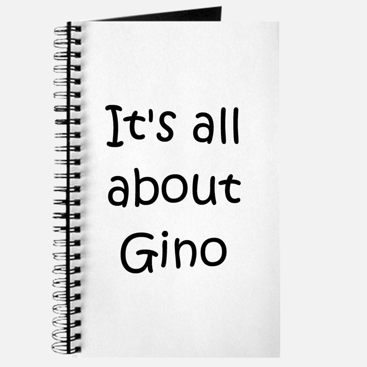 Cute Gino Journal