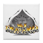 THE BULLY HOUSE LOGO Tile Coaster
