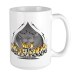 THE BULLY HOUSE LOGO Large Mug