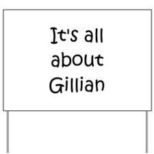 Cool Gillian Yard Sign