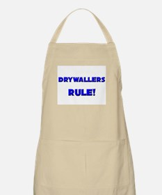 Drywallers Rule! BBQ Apron
