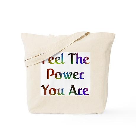 Feel the Power Design #573 Tote Bag