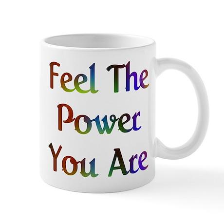 Feel the Power Design #573 Mug