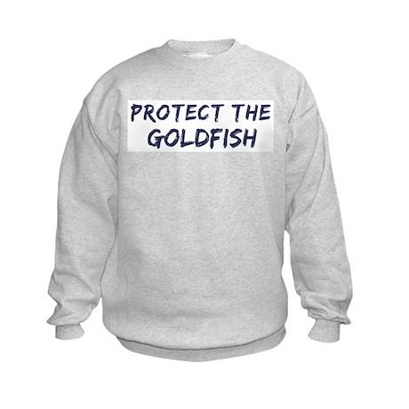 Protect the Goldfish Kids Sweatshirt