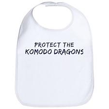 Protect the Komodo Dragons Bib