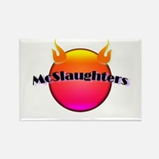 McSlaughtered Rectangle Magnet