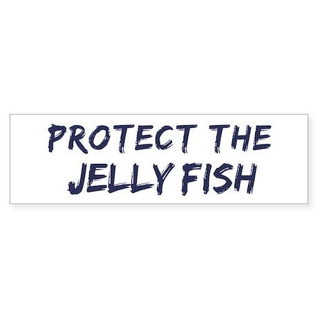 Protect the Jelly Fish Bumper Sticker