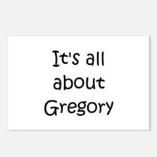 Unique Gregory Postcards (Package of 8)
