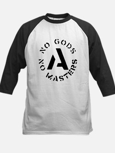 No Gods No Masters Kids Baseball Jersey