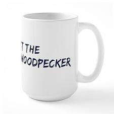 Protect the Ivory-Billed Wood Mug