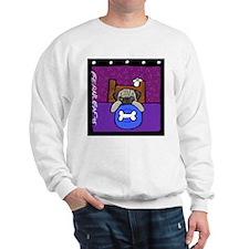 Pug Wants Pizza Sweatshirt