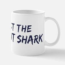 Protect the Iridescent Shark Mug