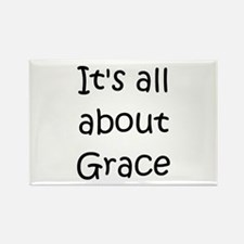 Cute Grace name Rectangle Magnet