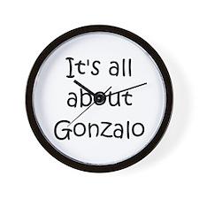 Funny Gonzalo Wall Clock