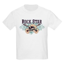 Rock Star Guitars Skulls T-Shirt